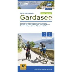 Fietskaart BVA-ADFC Regionalkarte Gardasee  1:50.000 (2.A 2020)