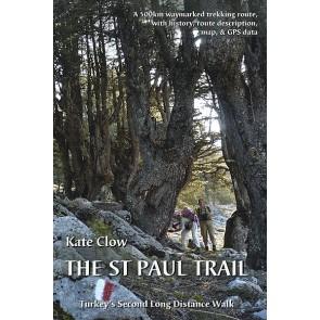 Wandelgids The St Paul Trail (boek + kaart) Turkey's second long distance walk (2013)
