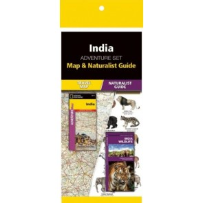 India Adventure Set (Map & Naturalist Guide)