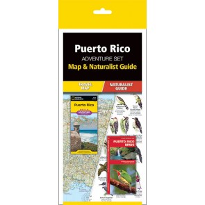 Puerto Rico Adventure Set (Map & Naturalist Guide)