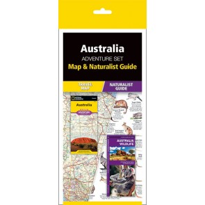 Australia Adventure Set (Map & Naturalist Guide)