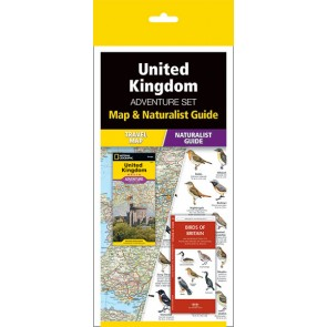 United Kingdom Adventure Set (Map & Naturalist Guide)