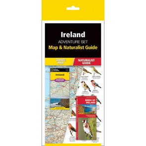 Ireland Adventure Set (Map & Naturalist Guide)