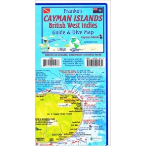 Cayman Islands - British West Indies Guide & Dive Map