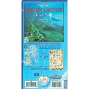 Chuuk (Truk) Lagoon Dive Map