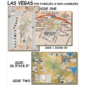 Las Vegas Map for Families & Non-Gamblers