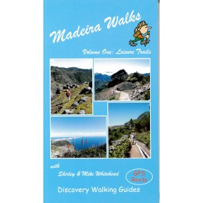 Wandelgids Madeira Walks Volume One: Leisure Trails  2015
