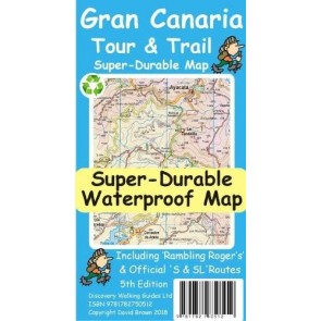Wandelkaart Gran Canaria 1:50.000 Tour & Trail Super-Durable Map (5th. ed.2018)
