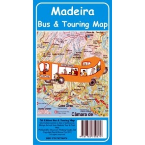 Madeira Bus & Touring Map 1:25.000 SD76th. ed. (2019)