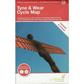 Fietskaart Tyne & Wear Cycle Map (34)