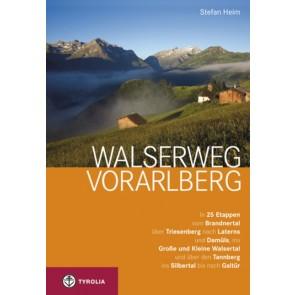 Wandelgids Walserweg Vorarlberg