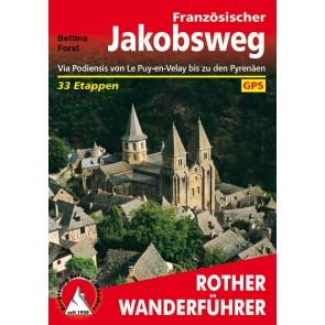 Wandelgids Rother Französischer Jakobsweg 33 Etappen 4.A 2015
