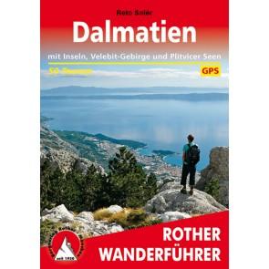 Wandelgids Rother Dalmatien - 50 Touren 1.A 2015