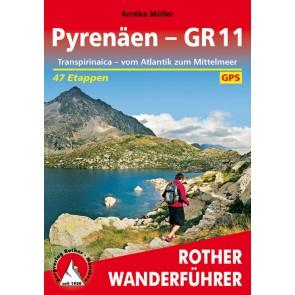 Wandelgids Pyrenäen - GR11 47 Etappen (1.A 2017)