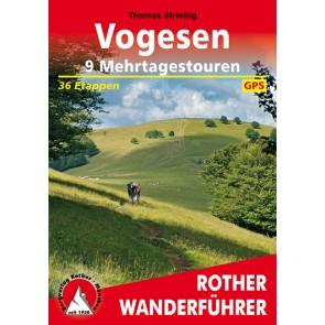 Wandelgids Vogesen 9 Mehrtagestouren 1.A 2018