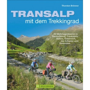 Transalp mit dem Trekkingrad - 20 Mehrtagstouren
