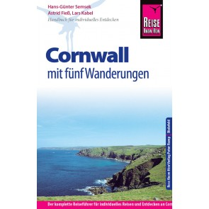 Reisgids Cornwall mit fünf Wanderungen 6.A 2015/16