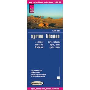 LK Syrien,Libanon/1:600 000  6.A 2011