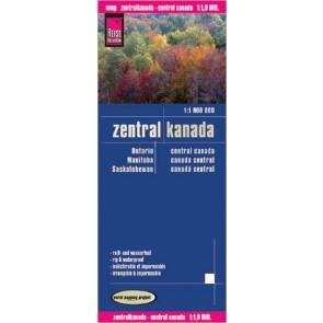 Wegenkaart Central Canada/ZentralKanada 1:1,9m. 1.A 2009