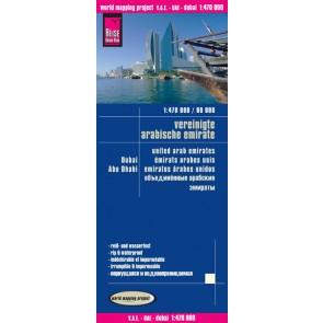 Wegenkaart LK V.A.E. met Dubai en Abu Dhabi 1:470 000/ 4.A 2014