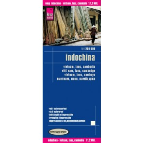 Wegenkaart Indochina 1:1,2mil.  6.A 2016
