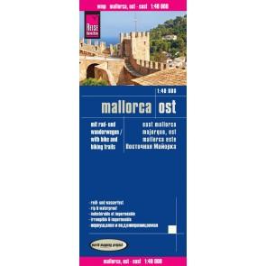 Landkaart Mallorca Ost 1:40.000  3.A 2015
