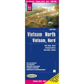 Landkaart Vietnam - North/Nord 1:600.000 8.A 2020