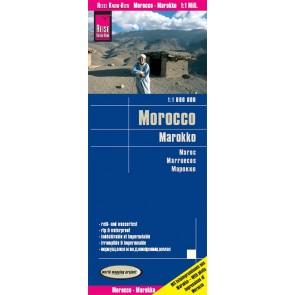 Landkaart Marokko 1:1m  12.A 2019