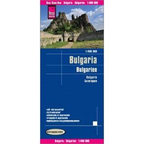 Landkaart Bulgaria/Bulgarien/Bulgarije 1:400.000  6.A 2018