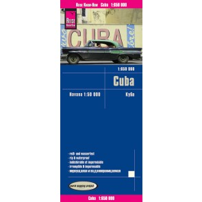 Landkaart Cuba 1:650.000 4.A 2017