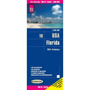 Landkaart USA-10 Florida 1:500.000 4.A 2019