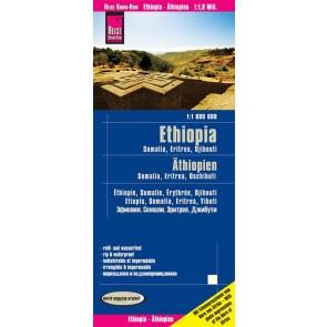Landkaart Ethiopia/Somalia 1:1.800.000  10.A 2020