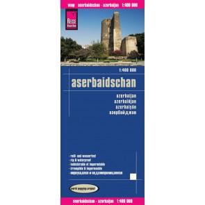 Wegenkaart Aserbaidschan/Aserbaijan 1:400.000 (1.A 2016)