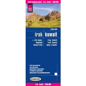 Wegenkaart Irak/Koeweit Iraq/Kuwait 1:850.000 (1.A 2016)