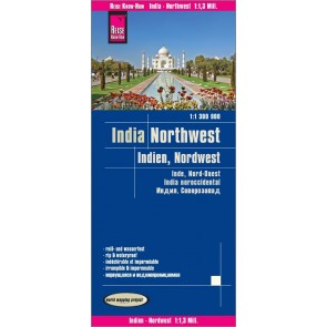 Wegenkaart India - Northwest 1:1,3 Mio. 7.A 2018