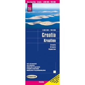 Wegenkaart Croatia   Kroatien 1:300.000/700.000  9.A 2020