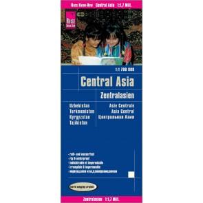 Wegenkaart Central Asia | Zentral-Asien 1:1 700.000  8.A 2018