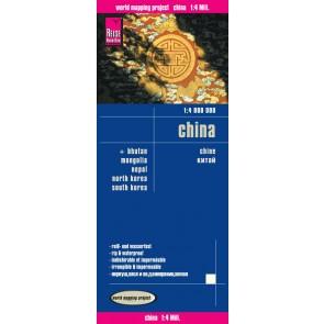 Wegenkaart China 1:4m  3.A 2016