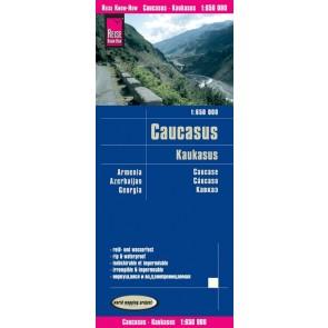 Wegenkaart Caucasus-Kaukasus 1:650.000 9.A 2018