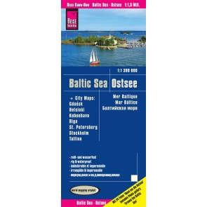 Landkaart Baltic Sea | Ostsee 1:1,3m. 2.A 2018