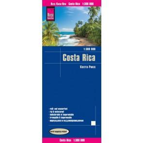 Landkaart Costa Rica 1:300.000 1.A 2018