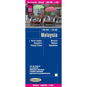 Wegenkaart Malaysia 1:800.000 5.A 2018