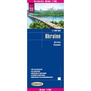 Wegenkaart Oekraïne/Ukraine 1:1.000.000  5.A 2019