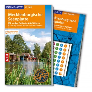 Reisgids Mecklenburgische Seenplatte - Polyglott on tour (2015)