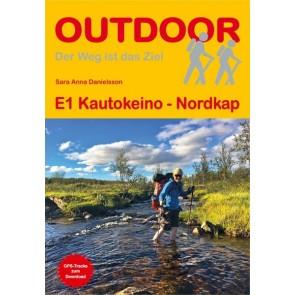 Wandelgids E1 Kautokeino - Nordkap (411) 1.A 2017