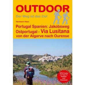 Wandelgids Portugal-Spanien: Jakobsweg OstPortugal - Via Lusitana  (230) 2.A 2017