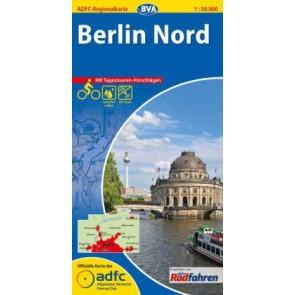 Fietskaart BVA-ADFC Regionalkarte Berlin Nord 1:50 000 (2014 plast)