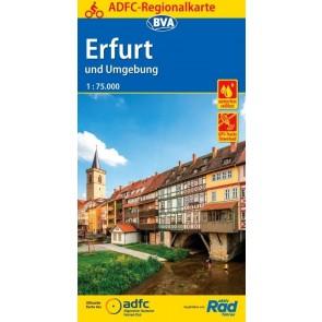 Fietskaart BVA- Erfurt und Umgebung 1:75.000 (1.A 2018)