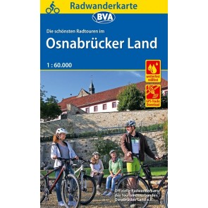 Fietskaart BVA-ADFC Radwanderkarte Osnabrückerland 1:60.000 (6.A 2018)