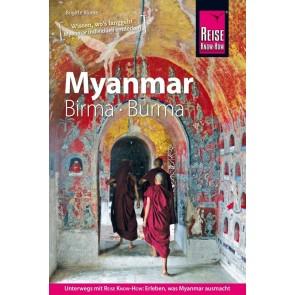 Reisgids RKH Myanmar - Birma - Burma